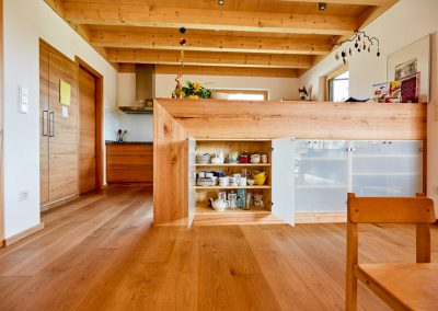 Massivholz Einbauküche