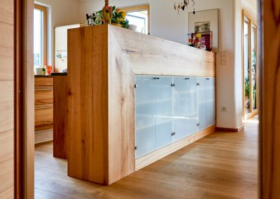 Massivholz Küchentheke