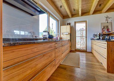 Massivholz Küchenzeile