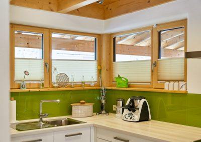 Küche Eckfenster
