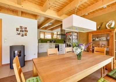 Wohnzimmer Küche Massivholzmöbel