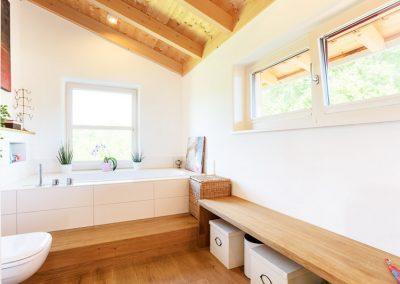 Badezimmer Massivholzmöbel Innenausbau