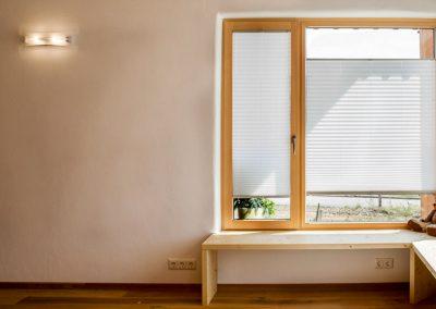 Massivholzfenster Innenausbau