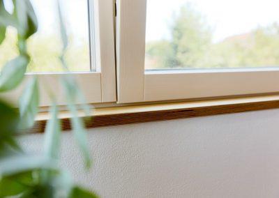 Massivholz Fenster Fensterbank
