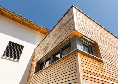 Wandverkleidung Holz Fenster Holz-Alu