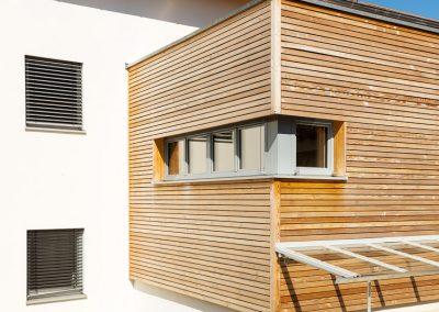 Holz-Lehmhaus Fensterelement